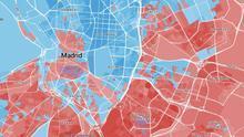 Imagen mapa calle a calle 10N Madrid