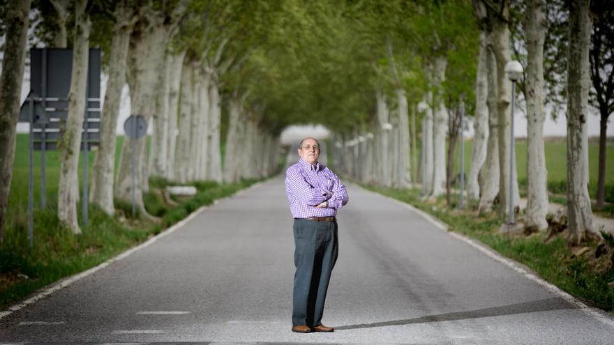 José Manuel Pardos, exalcalde de Gimenells, el único pueblo que Ciudadanos ha gobernado hasta ahora / ENRIC CATALÀ