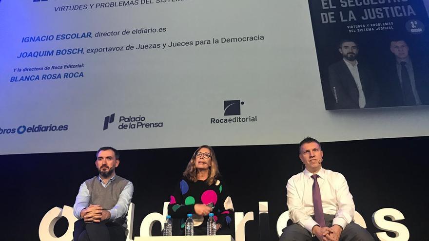 Presentación en Madrid de 'El secuestro de la Justicia'