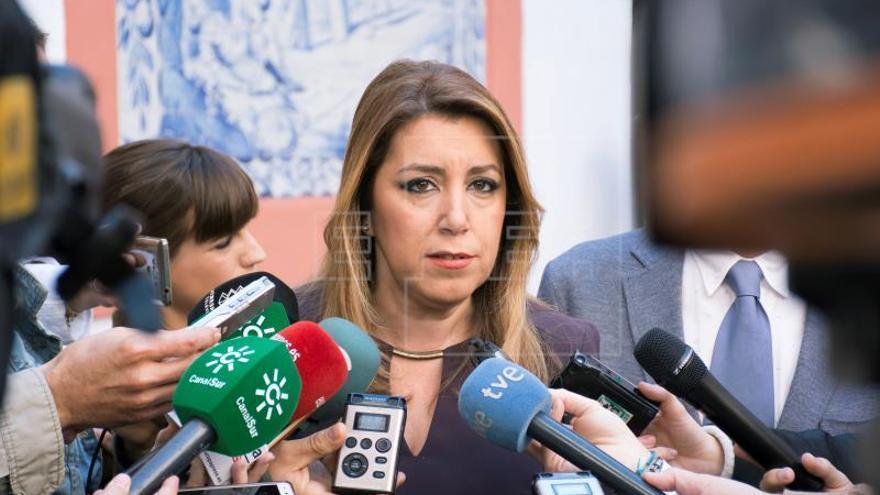 Susana Díaz sobre un posible adelanto electoral: No tenemos tiempo para eso