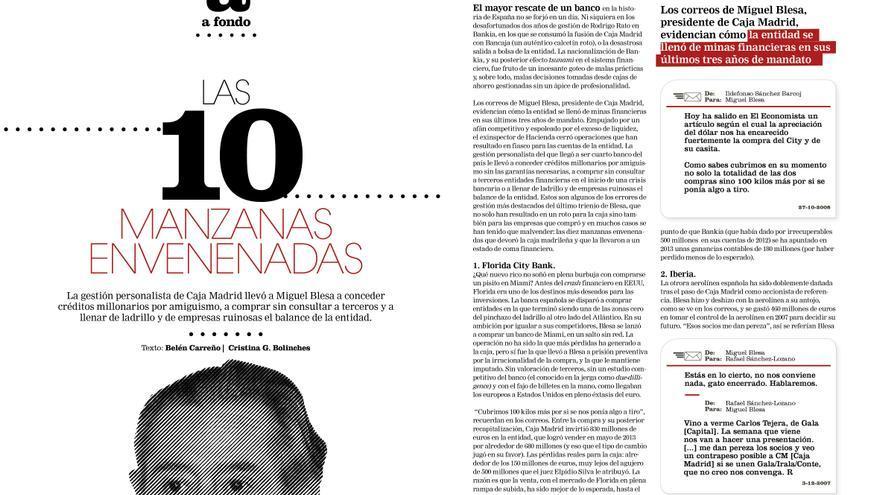 Reportaje de Belén Carreño en el número 4 de la revista Cuadernos de eldiario.es.