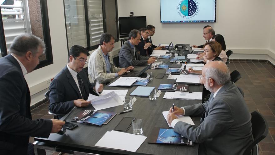Reunión del Consejo Rector del Instituto de Astrofísica de Canarias (IAC) celebrada este martes en La Laguna (Tenerife).