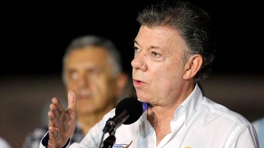 Santos buscará el diálogo con Maduro para la reapertura de la frontera común