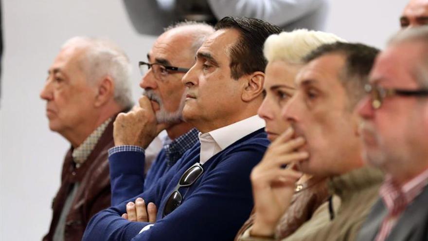 Banquillo de los acusados del caso Faycán.