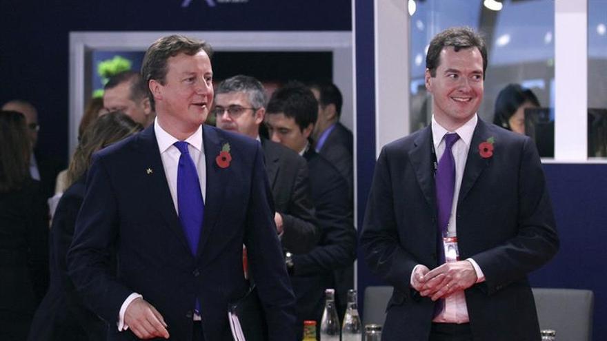"""Cameron y Osborne advierten a los votantes del error de votar por el """"brexit"""""""