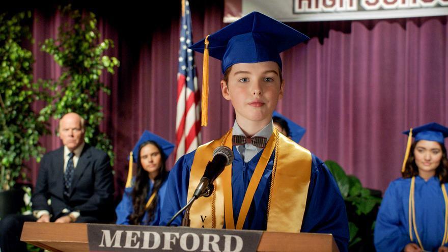 Escena de la cuarta temporada de 'El joven Sheldon'