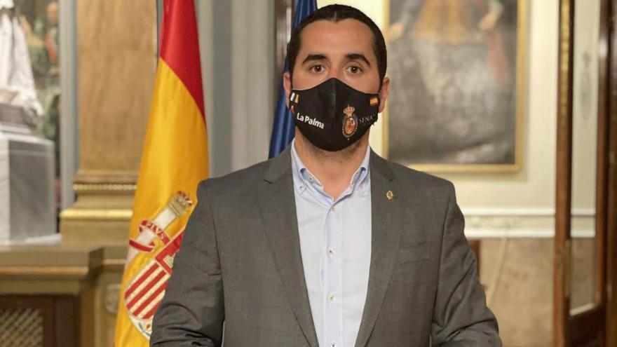 Borja Pérez Sicilia, senador por La Palma.