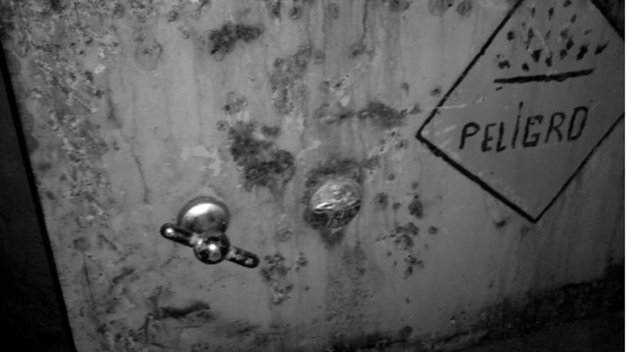 Polvorín de almacenamiento de explosivos (Galería 'Las Cuevitas').