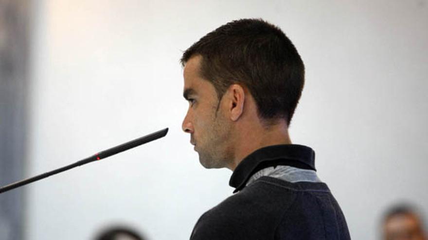 Oliverio H.G., uno de los tres acusados, declaró este martes. (ACFI PRESS)