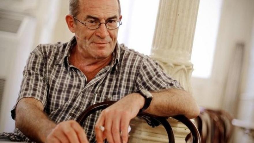 El escritor, guionista y periodista Juan Madrid.