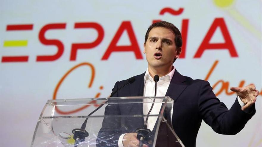 Albert Rivera durante la presentación de la plataforma 'España Ciudadana'.