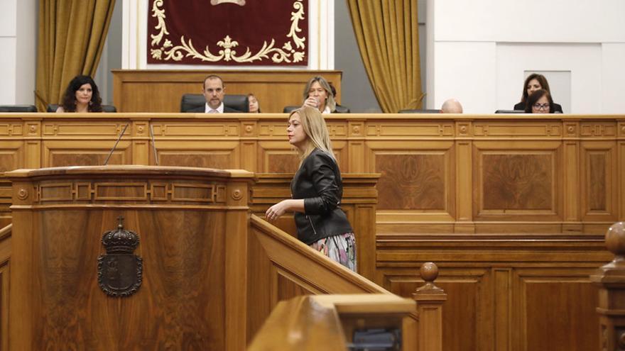 La portavoz de Ciudadanos en las Cortes de Castilla-La Mancha, Carmen Picazo