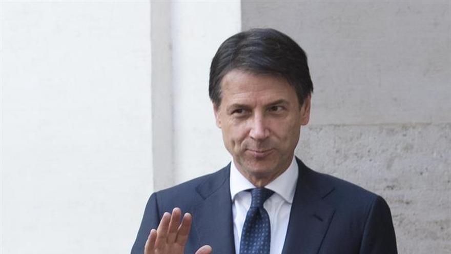 Conte defiende los presupuestos ante la UE y dice que el euro es irrenunciable