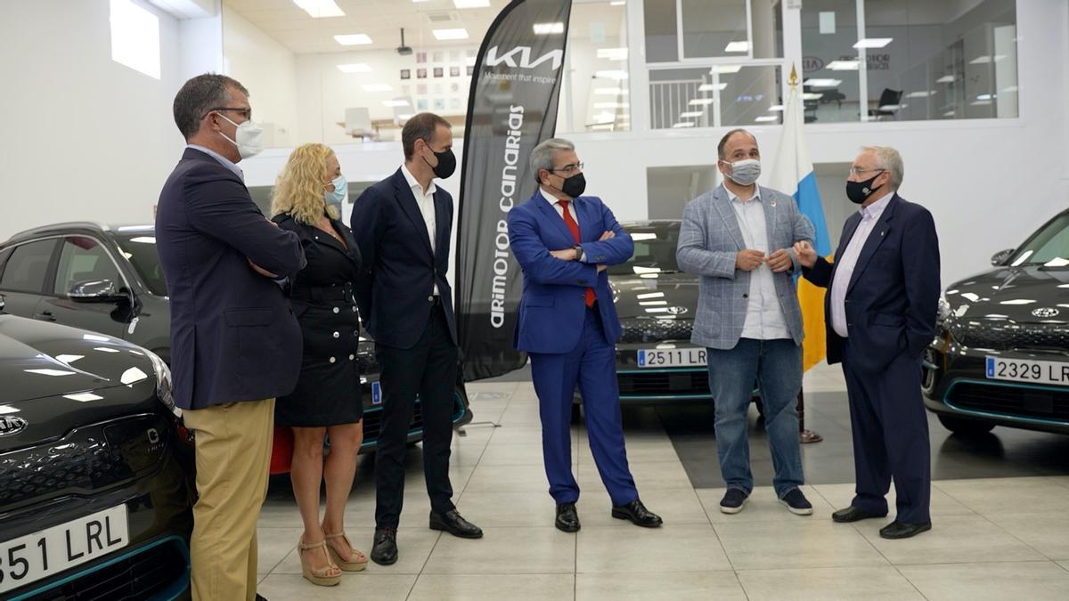 Recepción de los primeros vehículos eléctricos del modelo eNiro Spirit, del fabricante KIA