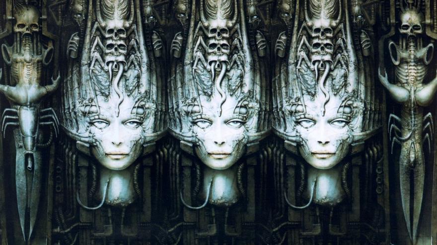 HR Giger y Lovecraft: Necronomicon