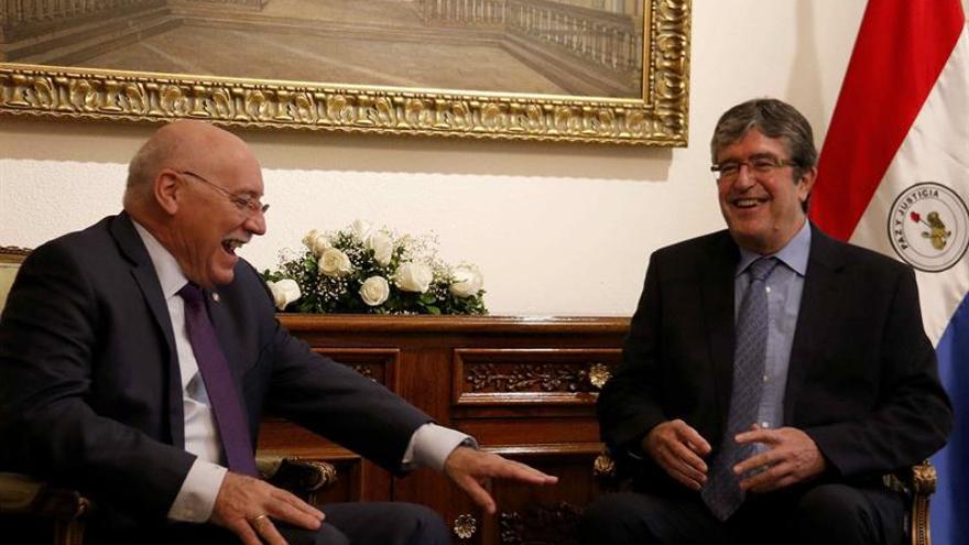 El canciller paraguayo se entrevistará con Dastis en Madrid en diciembre