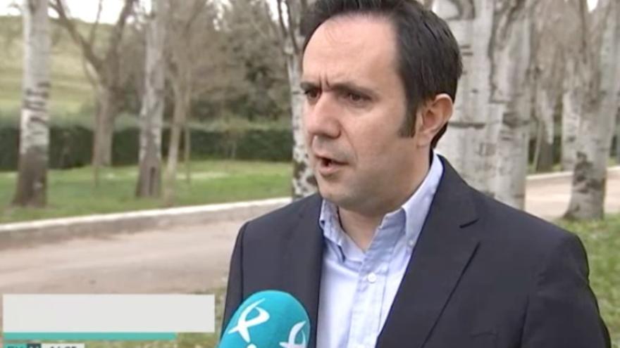 César Ramos, diputado extremeño en las Cortes por el PSOE