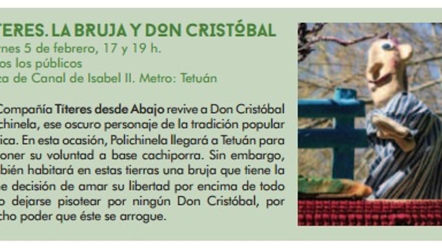 Detalle del programa oficial de los Carnavales de Madrid