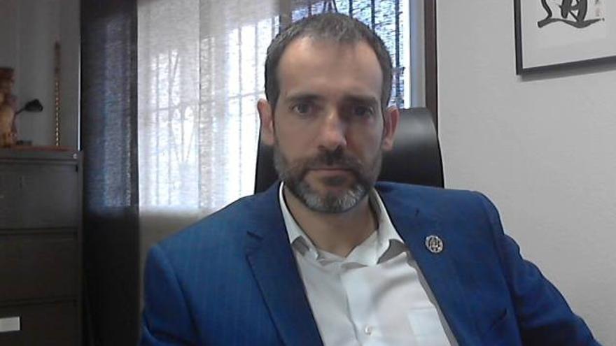 Juan José Liarte, portavoz de Vox en la Asamblea Regional de Murcia