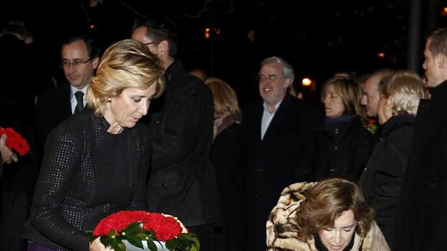 La viuda de Ordóñez y Aguirre acuden al homenaje a víctimas del terrorismo