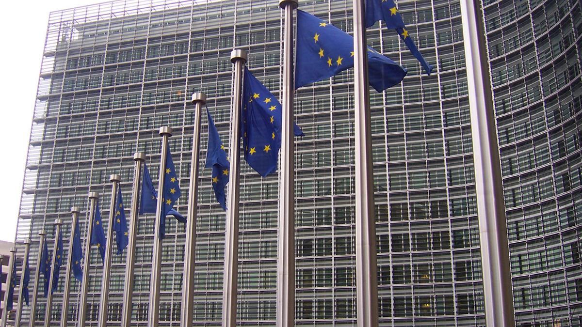 Edificio Berlaymont, Sede de la Comisión Europea, Bruselas.