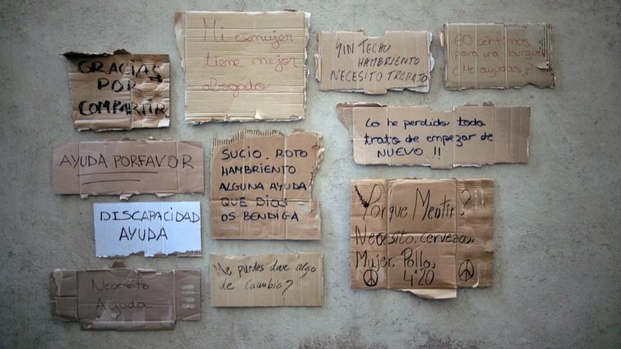 Son numerosas y muy variadas las tipografías que podemos encontrar en Homelessfonts.org (Foto: homelessfonts Arrels   Flickr)