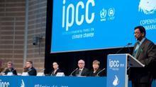 Reunión del IPCC sobre cambia climático