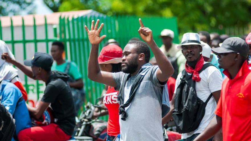 Los haitianos insisten en exigir la renuncia del presidente Moise