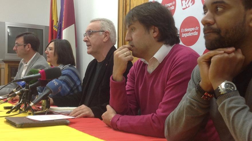 Cayo Lara en rueda de prensa en Albacete / Albacete Capital