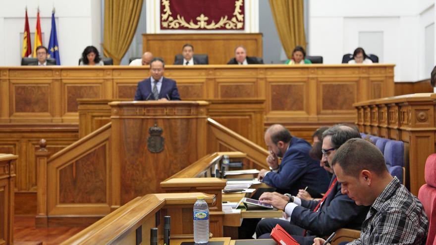 Pleno financiero celebrado en las Cortes de Castilla-La Mancha