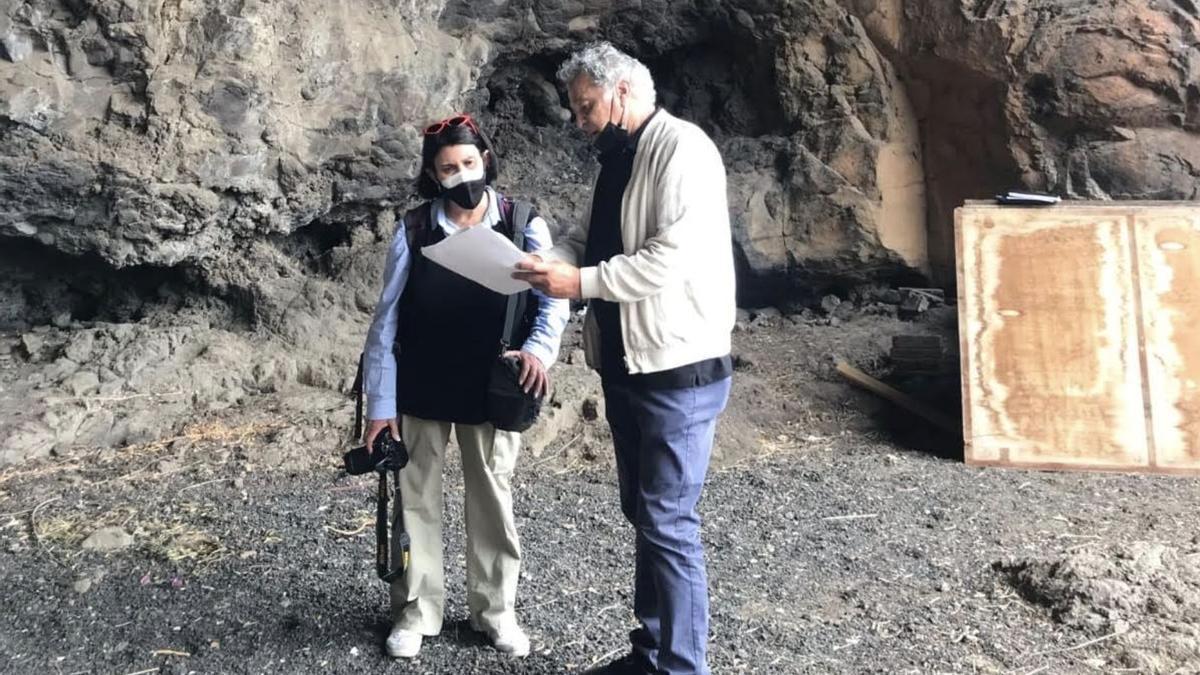 Visita  a la Cueva de Carías.