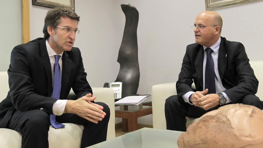 """Baltar le dice a Rajoy por su gestión ante la crisis que es un """"verdadero líder"""""""