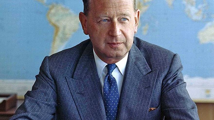 Secretario general de la ONU Dag Hammarskjöld // Wikimedia: UN/DPI