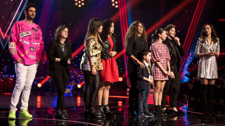 La Voz Kids en Antena 3