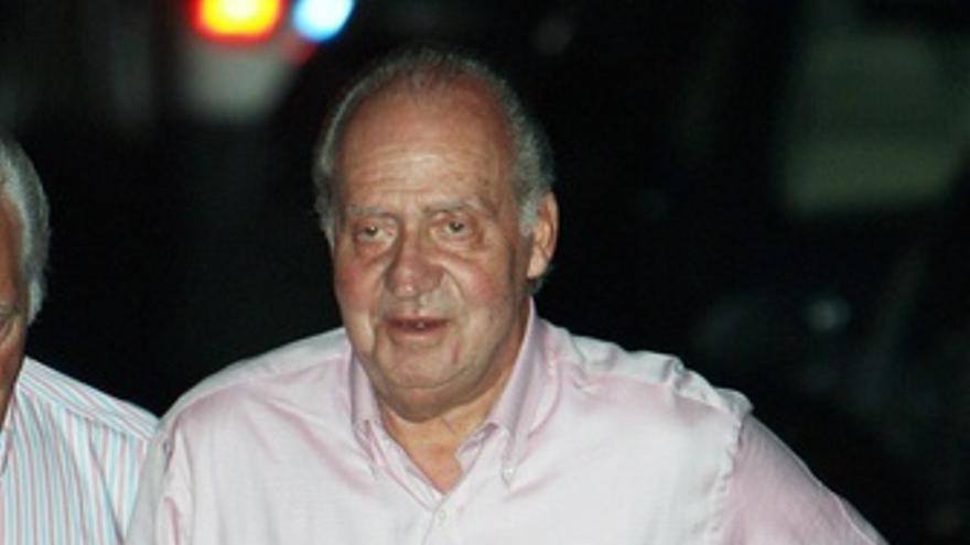 El rey don Juan Carlos ya está de vacaciones en Palma de Mallorca
