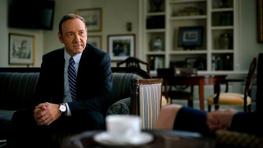 Kevin Spacey es Frank Underwood en House of Cards