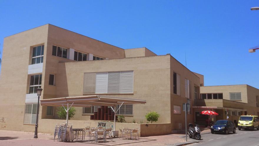 El centro de Salud Profesor Jesus Marín donde ocurrieron los hechos la pasada tarde