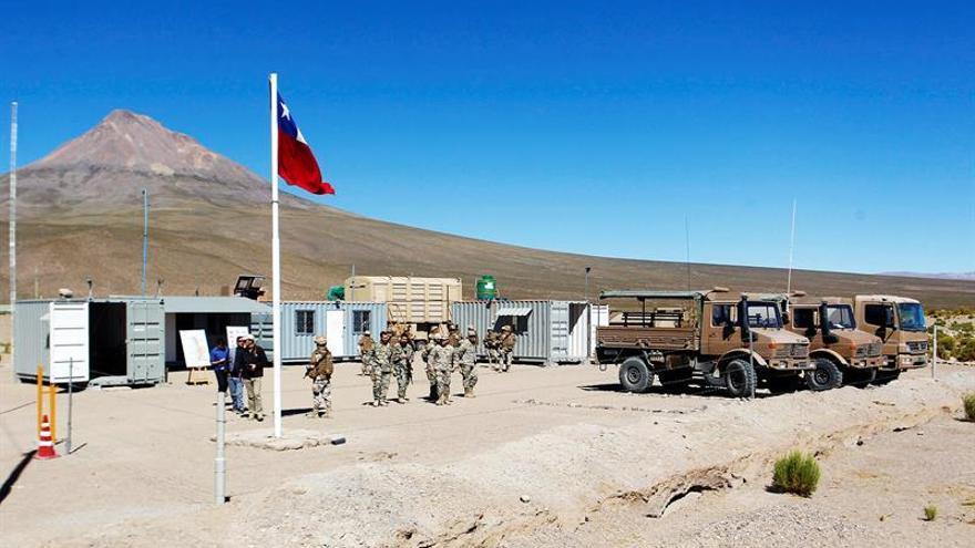 Chile desmiente la tenencia de armamento en un puesto militar fronterizo con Bolivia