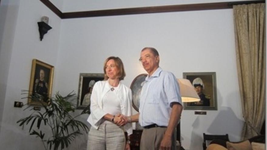 Chacón Y James Michel.
