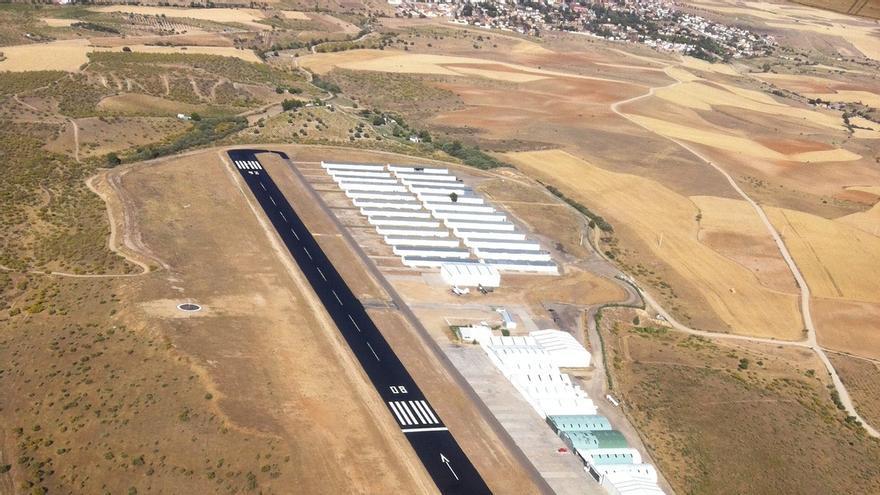 AirMadrid City Sur reivindica que su aeropuerto paliaría problemas como los derivados del cierre de una pista en Barajas