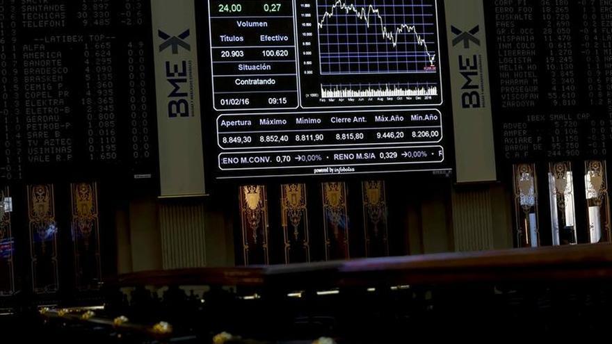La Bolsa española abre con un rebote del 1,47 %, y recupera los 8.400 puntos