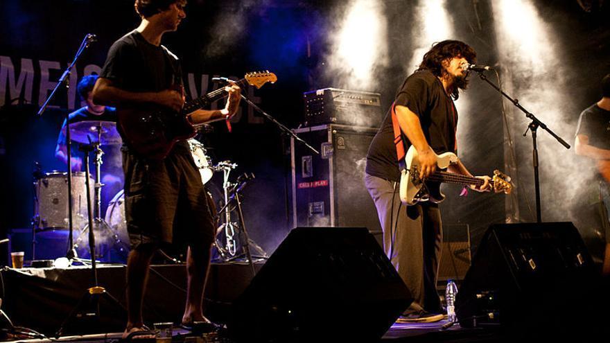 El grupo argentino, durante una actuación en el Primavera Sound de Barcelona.