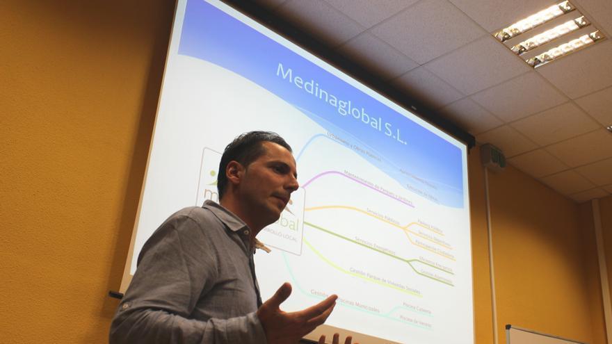 Santiago Gutiérrez, gerente de Medina Global S.L.