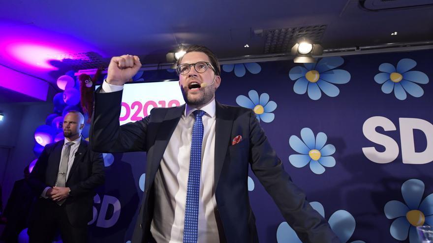 Jimmie Åkesson, líder del partido de extrema derecha Demócratas Suecos. EFE