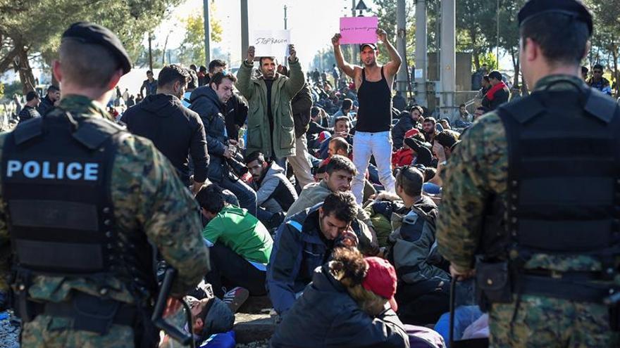La entrada de inmigrantes en países de la OCDE batió su récord en 2016