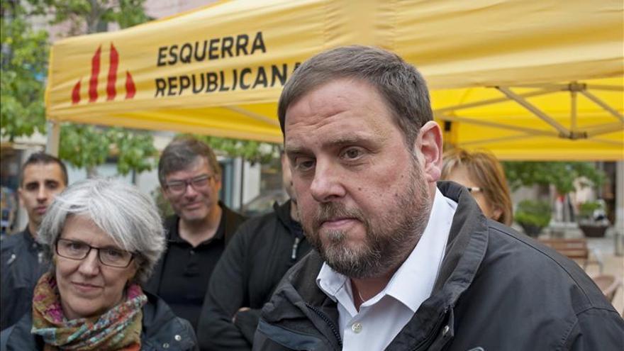 Junqueras admite que en su ayuntamiento no se ha votado poner la estelada