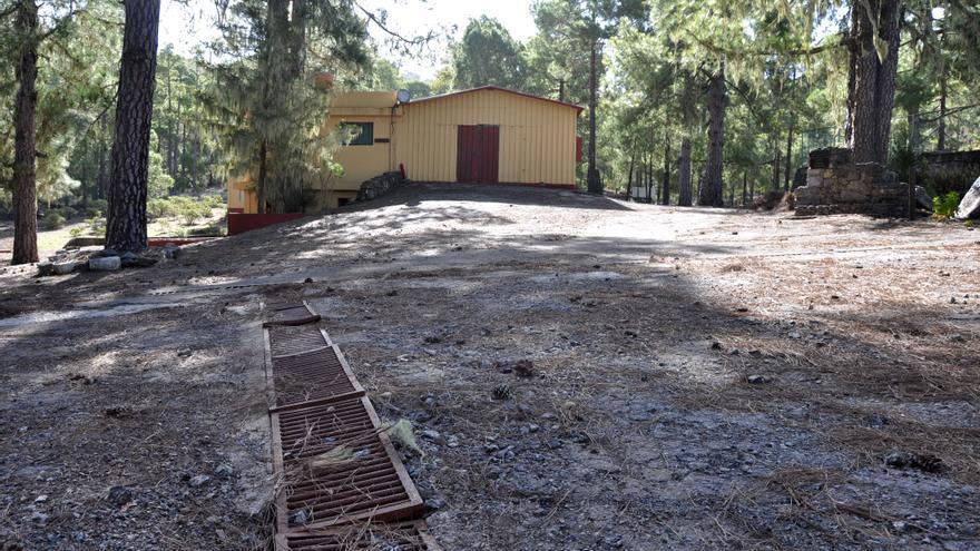 Instalaciones del Campamento de Tamadaba (Ángel Sarmiento)