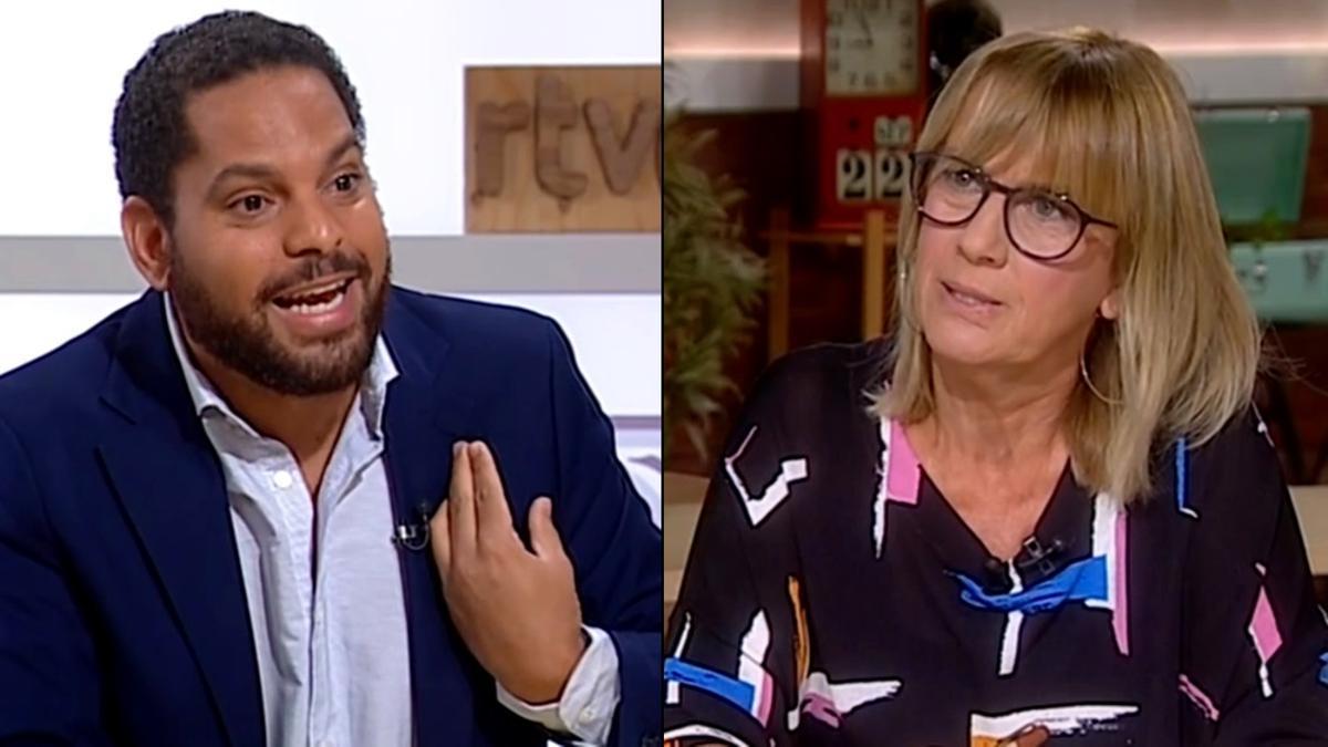 Ignacio Garriga (Vox) / Gemma Nierga
