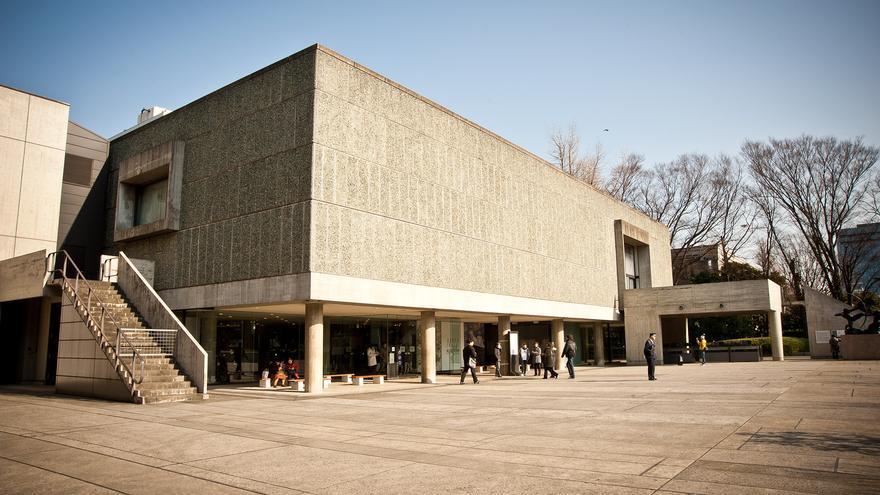 El Museo Nacional de las Artes Occidentales de Tokio, Japón.