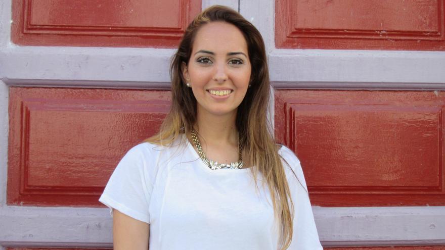 Paloma González ha diseñado artículos inspirados en La Bajada. Foto: LUZ RODRÍGUEZ